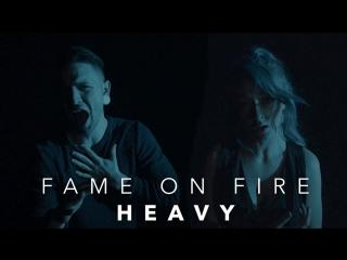 Heavy - Linkin Park ft. Kiiara (Rock Cover) Fame On Fire  Rain Paris