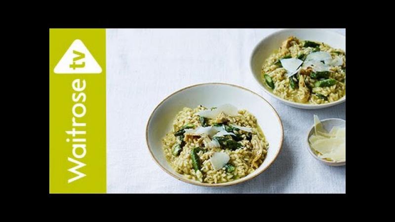 Asparagus And Artichoke Risotto Waitrose