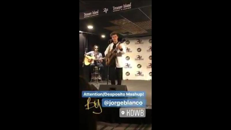 Jorge en Instagram Story de 101.3 KDWB Skyroom