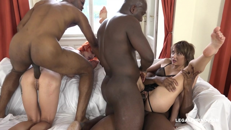 LegalPorno Lola Shine and Kessie Shy battle between two whores black bull Part 1 IV089 milf anal dp dap ass fuck porn 2017 gonzo