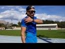 Работа рук в беге. Техника спринтерского бега. Валерий Жумадилов.
