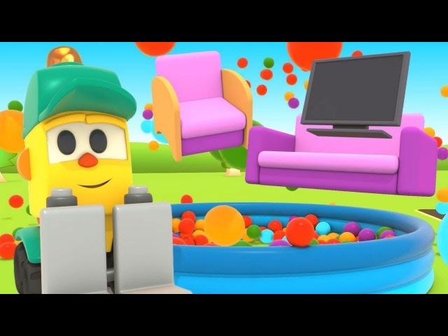 Çizgi film Lifty'nin dükkanı Oyuncak mobilyalar