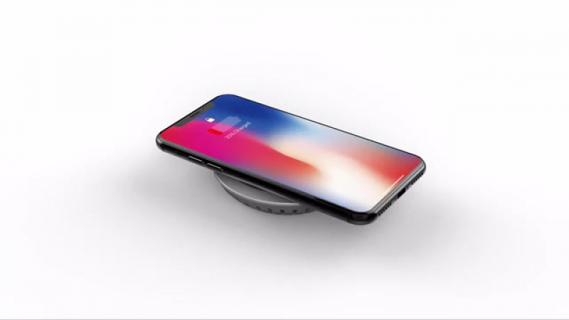 [HyperDrive USB-C hub 7.5W qi wireless charger iPhone stand]