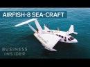 This Sea-Craft Looks Like A Plane, Has A Cars Engine, And Docks Like A Boat