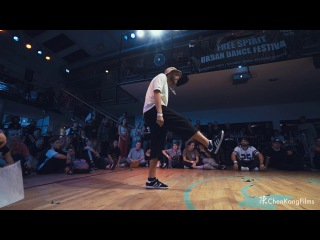 Free Spirit Festival 2017 MUSICOLOGY // Robozee vs Katya Joy // Funk -  1/4 Final