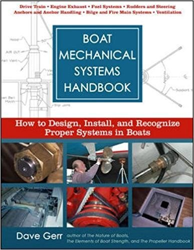687913 724F7 gerr d boat mechanical systems handbook how to design instal