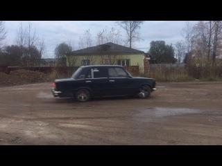 """ВАЗ 2101 Боевая Классика от Подписчика, как он крутит на ней """"Бублики"""""""