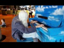 Natalie Trayling plays a Street Piano Hamer Hall Melbourne (Spontaneous Composition)
