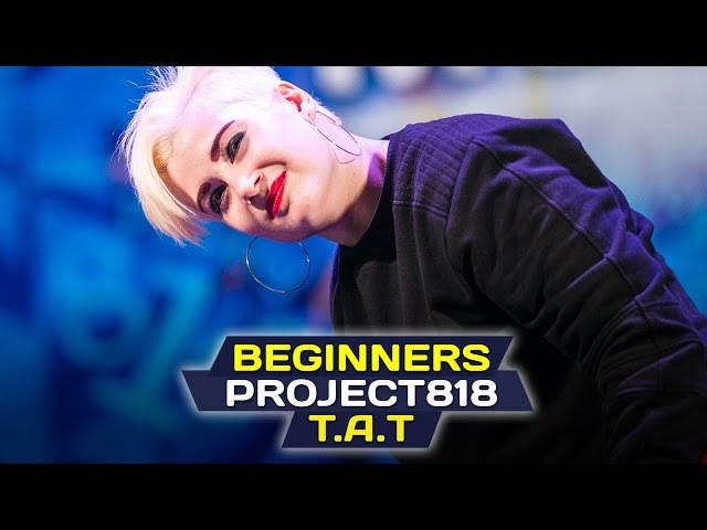 T A T BEGINNERS ✪ RDF16 ✪ Project818 Russian Dance Festival ✪ November 4 6 Moscow 2016 ✪