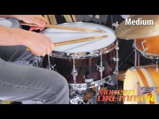 Product Close-Up: Jon Cross   Macassar/Gaboon Ebony Snare