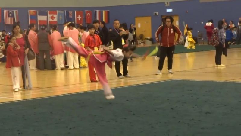 新獬豸杯第十三屆香港國際武術節 - 海外女子 F3 雙器械 (雙匕首) (李雪萾)