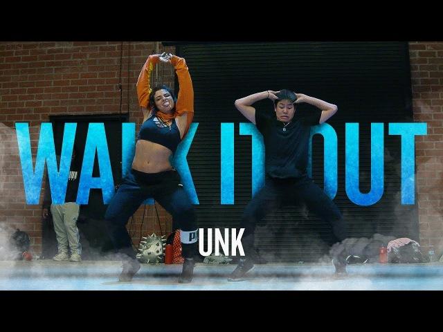 UNK - WALK IT OUT   @willdabeast__ Choreography   @immaspace 2018