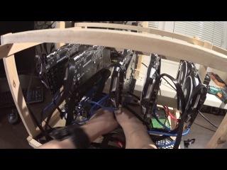 Тест на видеокартах Nvidia переходника 2 и 4 usb рейзера (райзера)