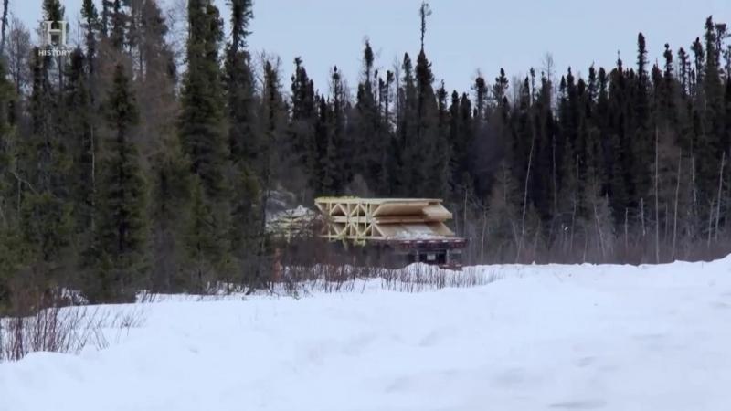 Ледовый путь дальнобойщиков 11 сезон 8 серия. Большой занос (2017)