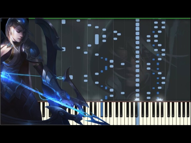 Legends Never Die Piano Tutorial Synthesia Kyle Landry MIDI Sheets