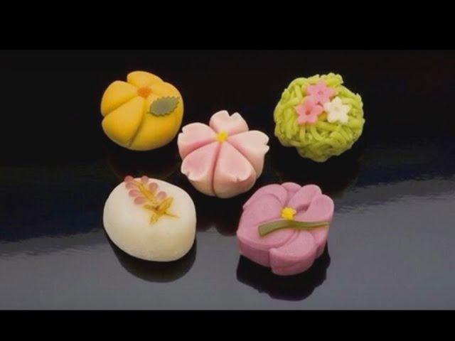 Wagashi Traditional Japanese Confectionery English subtitles
