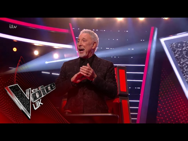 Tom Jones Performs 'A Whole Lotta Shakin' Blind Auditions The Voice UK 2018