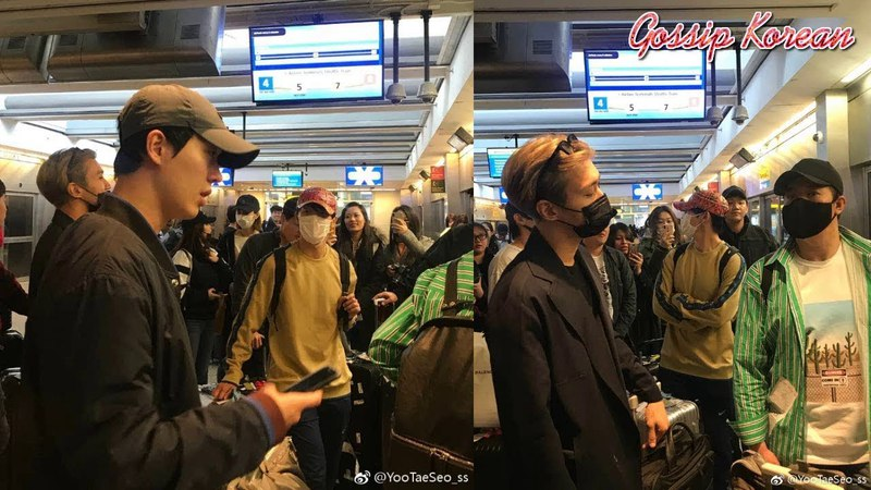 180419 Super Junior (슈퍼주니어) Arrived At JKF Airport In NYC For Super Show 7 in Buenos Aires
