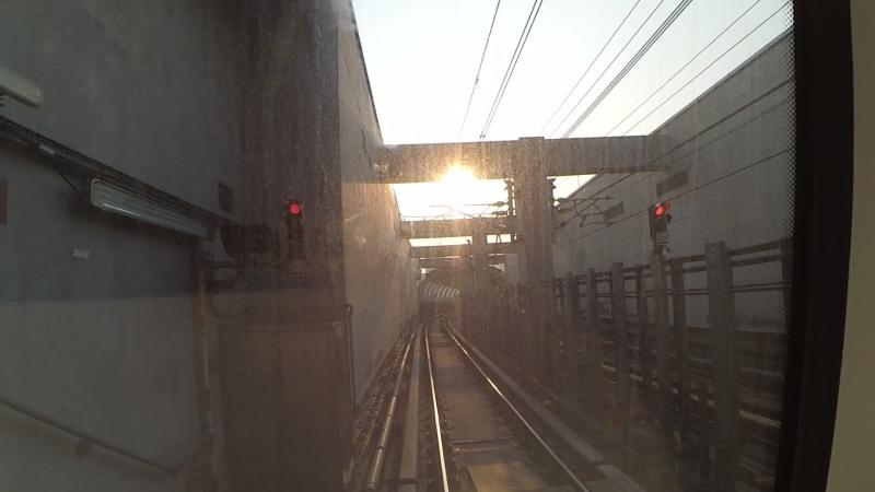 Беспилотное метро Гонконга от Admiralty do Wong Chuk Hang