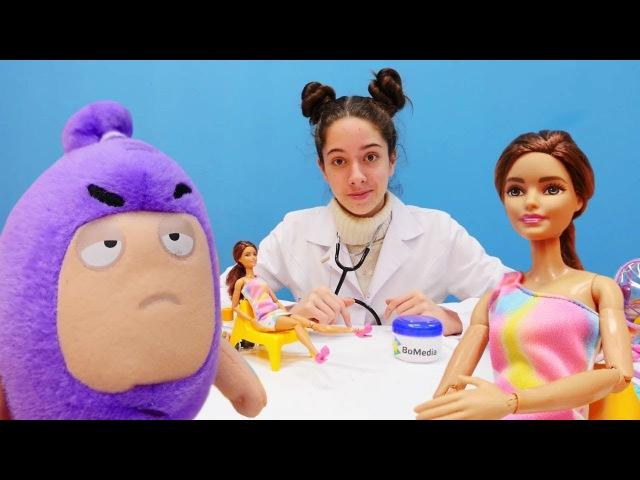 Teresa filmde çekiliyor. Barbie oyunları ve oyuncakları.