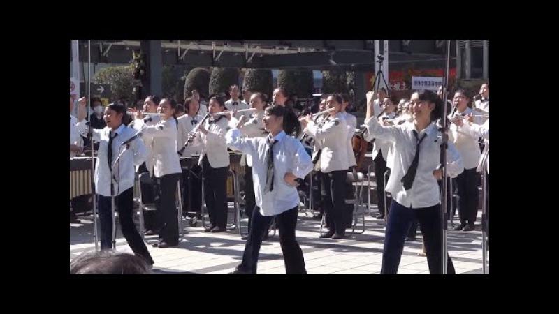 明浄学院高校 「嵐メドレー」第28回全日本高等学校選抜吹奏楽大会