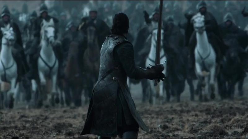 Джона Сноу спасают воины Игра престолов отрывок obovsem играпрестолов джоффрибаратеон тирионланнистер сансастарк джонсноу теон