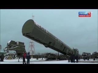 Ракетный комплекс «Сармат» Послание президента Путина 2018 (ИАЦ)