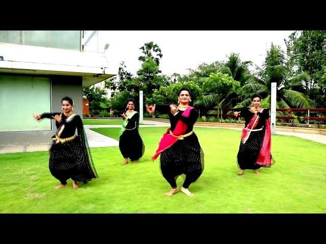 Shape of You Carnatic Mix by Indian Raga A Bharatha Natyam Rendition by kreative krackz