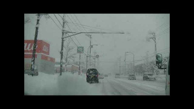 2018年1月12日 金  新潟市は大雪で80センチほど降雪で 65304