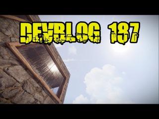 Rust Devblog 187 - Пуленепробиваемое стекло, свалка, изменения UI | Cheper