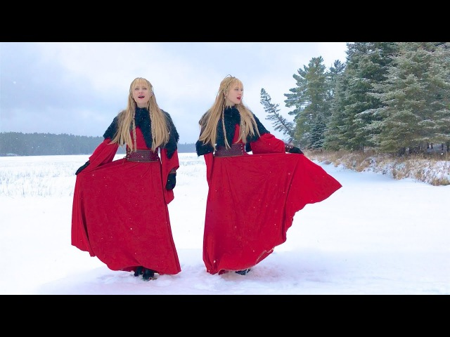 NORDIC SOLSTICE Original Song Camille and Kennerly Harp Twins