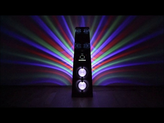 Аудиосистема мощного звука MUTEKI MHC-V90DW - почувствуй силу музыки