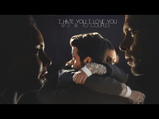►TVD TO Couples: I hate you, I love you [hyxbrid]