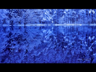 4K Japan Mishaka Pond of winter Christmas colors   Jesus Bleibet Meine Freude   絶景 冬景色の御射鹿池 - YouTube