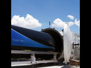 Virgin Hyperloop One  транспорт будущего