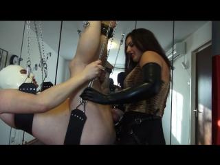 Ezada sinn - brutal assfuck - mistress abusing her sissy slut's pussy