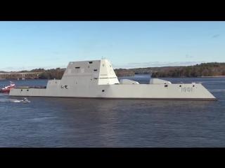 Второй американский эсминец класса Зумвальт вышел на испытания