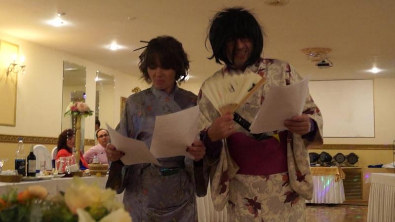 Смешное поздравление от японцев с новым годом