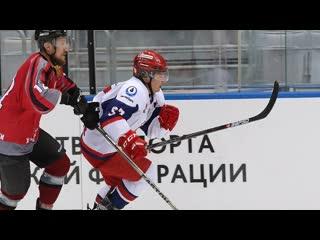 Хоккей. Финал VIII Фестиваля Ночной хоккейной лиги в Сочи.   4 мая 2019