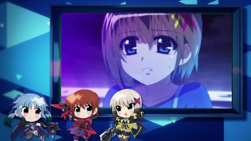 Mahou Shoujo Lyrical Nanoha Reflection special 「Ou sama tachi no sakusen kaigi」 weekly movie 2