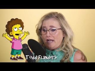 Женщина, которая озвучила персонажей Симпсонов (VHS Video)
