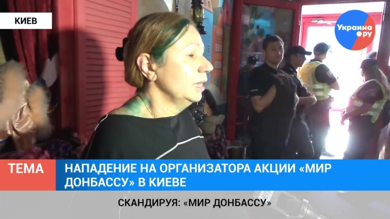 Праворадикалы угрожали сжечь театр с детьми в Киеве