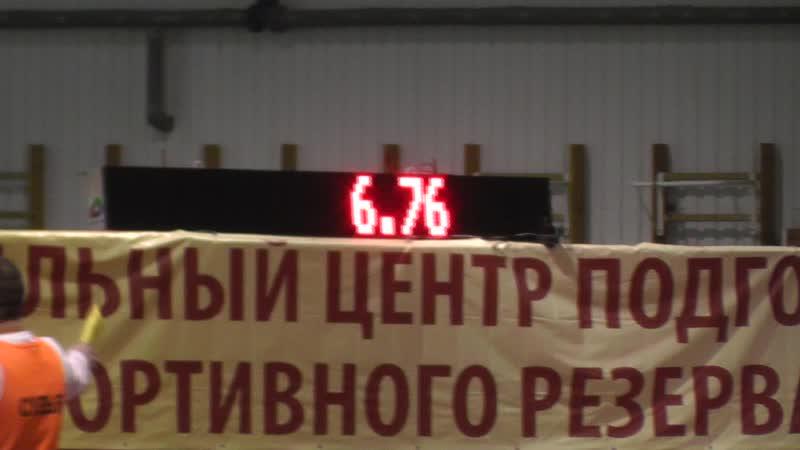 Смоленск Первенство России 60м финал