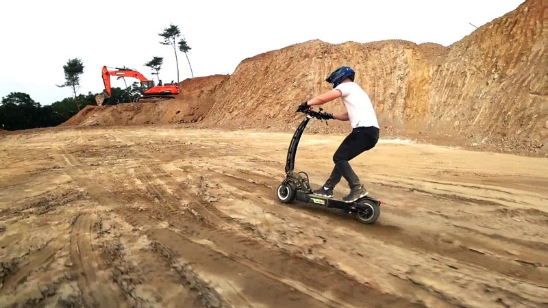 WEPED RR Off-road test / electric scooter WEPED RR