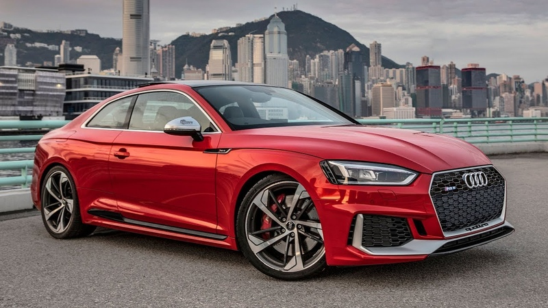 2019 AUDI RS5 TAKING OVER HONG KONG CITY - The 450hp/600Nm beauty in details