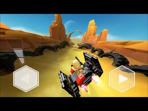 LEGO® Star Wars™ Microfighters android game first look gameplay español