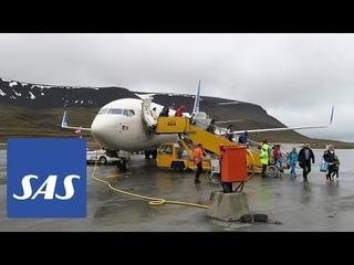 Полёт на Шпицберген | SAS Boeing 737-800 | Баренцбург, Пирамида и Лонгйир