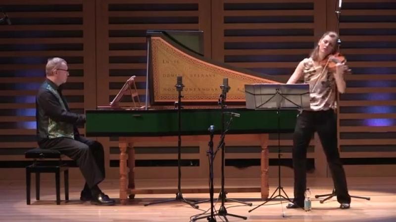 1024 J S Bach J G Pisendel Violin Sonata in C minor BWV 1024 Penelope Spencer David Roblou