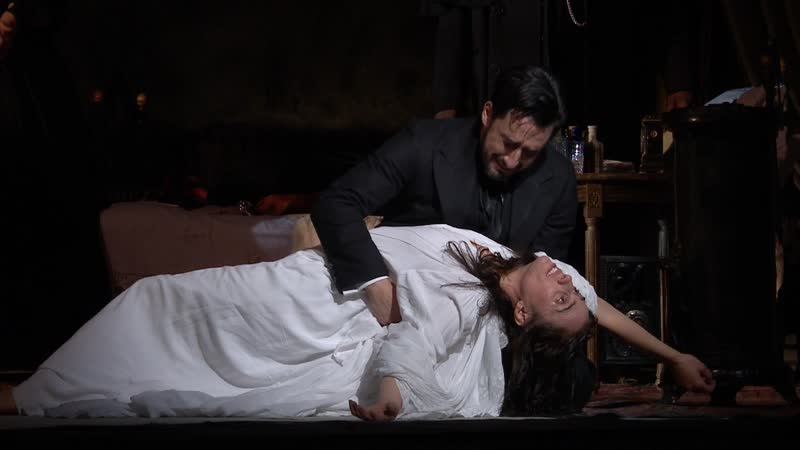 LA TRAVIATA Royal Opera House ACT III 30 01 2019 Domingo Jaho Castronovo