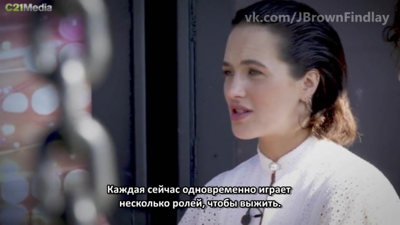 C21 INTERVIEW: Джессика Браун Финдли и Элисон Карпентер говорят о 2 ом сезоне сериала Куртизанки Русские Субтитры